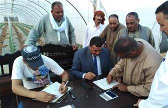 محافظ أسيوط: تسليم 201 عقد تقنين لواضعي اليد على أراضي الدولة | صور