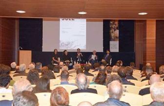 سفير مصر بروما ينظم جلسة حوار بمناسبة مرور 150 عاما على إنشاء قناة السويس | صور