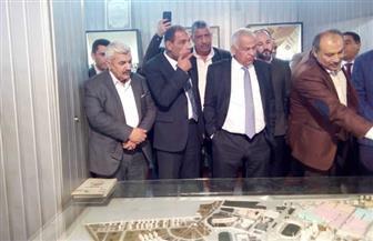 لجنة الصناعة بمجلس النواب تزور غزل المحلة | صور