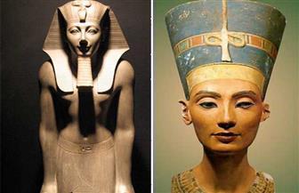 ابتكار لفنان مصري..  أول ترميم رقمي بالديجتال للملكة نفرتيتي وتمثال تحتمس الثالث