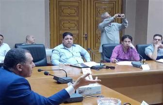 السكرتير العام يناقش مراحل إنهاء مشروعات مدينة العريش| صور