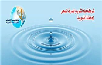 قطع المياه عن مدينة القناطر الخيرية و20 قرية لمدة 12 ساعة لغسل الشبكات