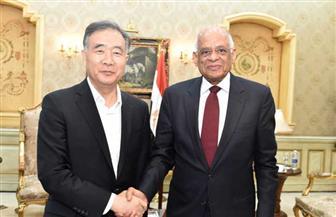 في ختام زيارته لمصر.. عبدالعال يودع رئيس اللجنة الوطنية للمؤتمر الاستشاري السياسي الصيني | صور
