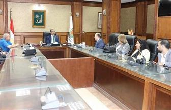محافظ سوهاج يستقبل مؤسس جامعة النهضة ورئيس مجلس أمناء جامعة «ميريت» | صور
