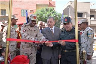 محافظ أسيوط يفتتح مدرسة الشهيد فاروق جعفر الثانوية بأبنوب | صور