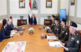 الرئيس السيسي يوجه بالانتهاء من تطوير محاور الطرق والكباري بمصر الجديدة وفق المخطط الزمني | صور وفيديو