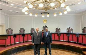 سفير مصر في مابوتو يلتقي رئيس المحكمة العليا بموزمبيق