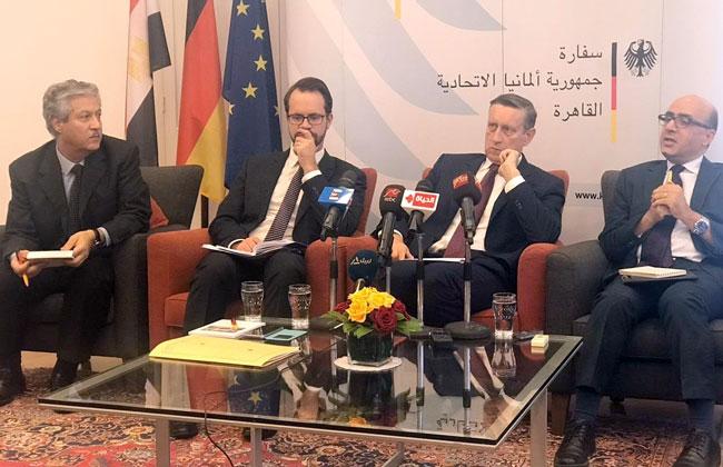 السفير الألماني: نثمن جهود مصر في مكافحة الإرهاب.. واتفاقيات جديدة للتعاون المشترك