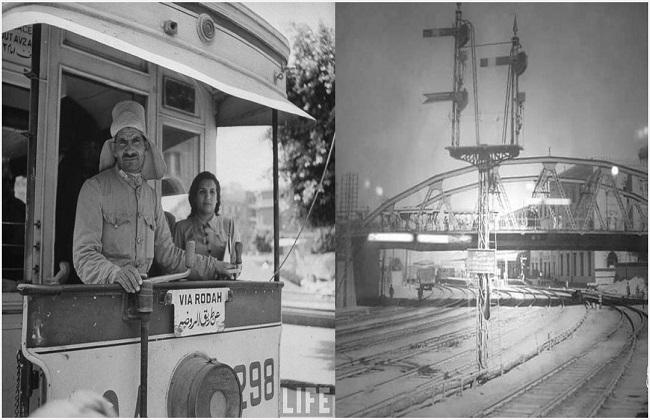 حواديت باب الحديد .. أيام القطارات الأولى وأزياء الكمساري في أرشيف الصحافة  صور -