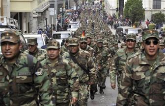 """الجيش البوليفي يعترف بآنيز رئيسة للبلاد.. """"نحن تحت تصرفك"""""""