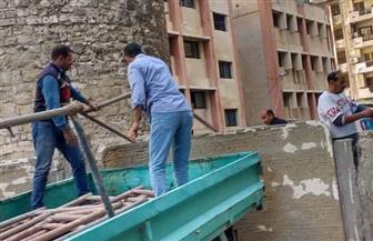 بدء أعمال ترميم طاحونة المندرة الأثرية بالإسكندرية | صور