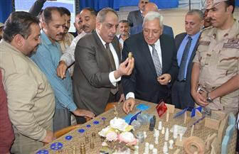 افتتاح ميدان الرماية بمدرسة محيي الدين أبو العز العسكرية بشربين | صور
