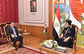 البابا تواضروس يلتقي سفير مصر بلبنان ويؤكد: نصلي من أجل هذا البلد| صور