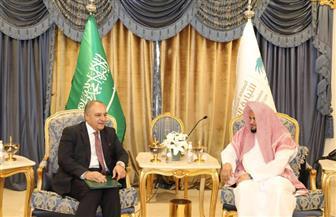 سفير مصر في الرياض يلتقي النائب العام السعودي