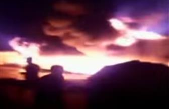 رئيس شركة أنابيب البترول: سيجارة سبب حريق خط المواد البترولية في إيتاي البارود | فيديو