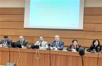"""ندوة """"المجلس الدولى"""" بجنيف: مصر قطعت شوطا كبيرا فى تمكين المرأة والشباب وتحسين أوضاع حقوق الإنسان"""