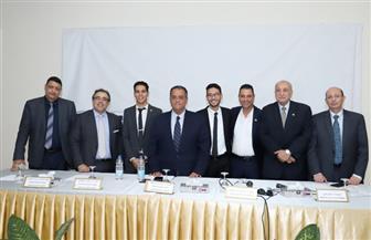 محمود عبد الحليم رئيسا لاتحاد طلاب جامعة عين شمس وأحمد الشبراوي نائبا| صور