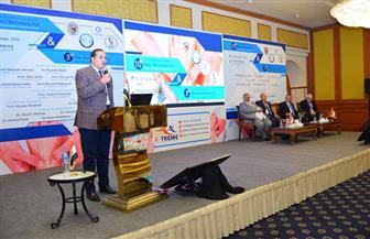 جامعة سوهاج تفتتح المؤتمر الدولي السنوي العاشر لجراحة اليد والجراحات الميكروسكوبية | صور