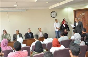 رئيس جامعة كفر الشيخ يعتمد تشكيل مجلس اتحاد طلاب الجامعة | صور