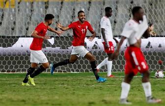 الشوط الأول.. مصر تتقدم بهدف «كهربا» أمام كينيا بتصفيات أمم إفريقيا 2021