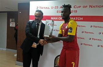 «كوابينا» يتوج بلقب رجل مباراة غانا ومالي بأمم إفريقيا تحت 23 عاما