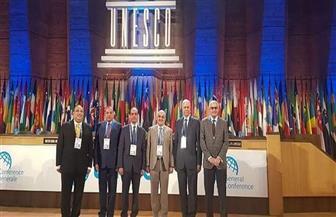 رئيس جامعة المنصورة يشارك بأعمال الدورة الأربعين للمؤتمر العام لليونسكو في باريس