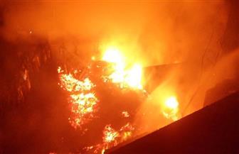 نشوب حريق في مبنى بالحي التجاري ببيروت
