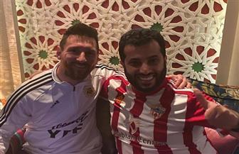 تركي آل الشيخ مع «ميسي» قبل ودية الأرجنتين والبرازيل | فيديو وصور