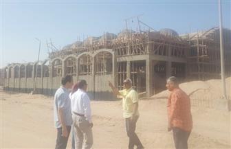 مساعد نائب رئيس المجتمعات العمرانية يتفقد مشروعات مدينتي سوهاج وأخميم الجديدتين