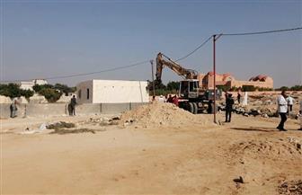 استرداد 3700 متر من أراضي الآثار في الإسكندرية ضمن الموجة 14 لاسترداد أملاك الدولة| صور