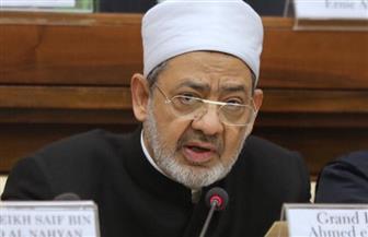 الإمام الأكبر يدعو إلي عقد مؤتمر لاحترام الحضارات خلال كلمته بقمة قادة الأديان|صور