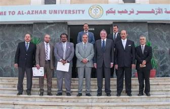 السفير السعودي: زيارة جامعة الأزهر بمثابة الدخول في كتاب تاريخ من ألف صفحة صور