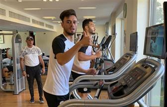 تدريبات استشفائية للاعبي المنتخب الأوليمبي | صور