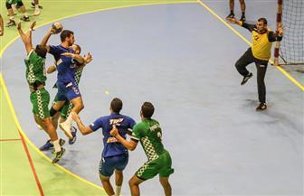 رجال يد الأهلي يفوز على الفيوم في بطولة الدوري