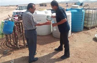 مسح 459 خزان مياه خلال حملة لمكافحة الأمراض المتوطنة بمرسى حميرة وأبو رماد بالبحر الأحمر |صور