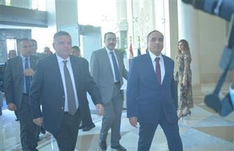 عبدالمحسن سلامة يستقبل وزير قطاع الأعمال بمقر انعقاد مؤتمر الأهرام للدواء