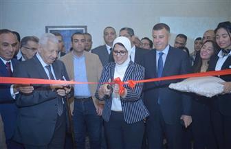 وزيرة الصحة وعبدالمحسن سلامة ومكرم يفتتحون معرض الأهرام للدواء | صور
