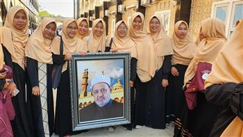 """""""خريجي الأزهر"""" بإندونيسيا تحتفل بالدفعة الأولى لمركز تعليم اللغة العربية لغير الناطقين  صور"""