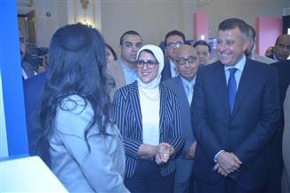 """وزيرة الصحة في مؤتمر """"الأهرام"""": الإنتاج الدوائي المحلى يمثل 80% والمستورد 20% فقط"""