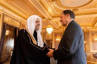 أمين عام رابطة العالم الإسلامي يزور ولاية يوتا الأمريكية ويلتقي قيادات حكومية ودينية وفكرية | صور