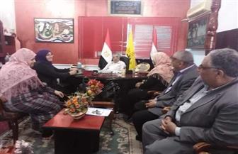 """""""تعليم شمال سيناء"""" تناقش تفعيل مبادرة """"دوي"""" لتمكين الفتيات"""