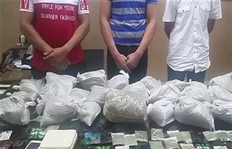 القبض على 3 أشخاص لاتجارهم فى مخدر الإستروكس بمدينة نصر والنزهة