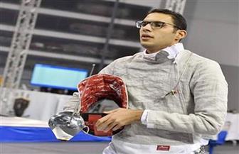 محمد عامر: وصولي لدور ربع النهائي بكأس العالم لسلاح السيف إنجاز كبير
