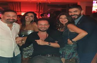 خالد سليم يحتفل بعيد ميلاده بحضور عدد كبير من الفنانين| صور