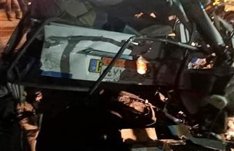بالأسماء.. ارتفاع ضحايا حادث التصادم على الطريق الصحراوي الشرقى بسوهاج | صور