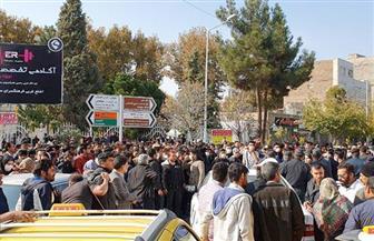 تواصل الاحتجاجات فى 75 مدينة إيرانية لليوم الثالث