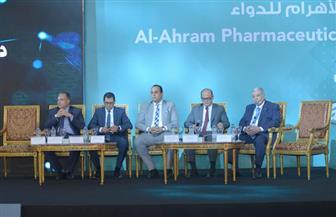 مؤتمر الأهرام: ربط الصيدليات إلكترونيا بهيئة الرعاية الصحية | صور