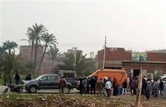 مصرع وإصابة 5 أشخاص بينهم طفلة في حادث بالأقصر
