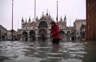 أمطارغزيرة تهطل على إيطاليا.. والبندقية تنتظر 24 ساعة عصيبة