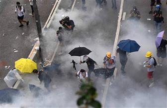 حروب السهام تعود فى الاشتباكات بين الشرطة والمتظاهرين فى هونج كونج